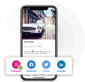 Social Share - Profile and Share History - Shadow