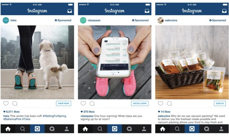 Konkrete Handlungsaufforderungen funktionieren auf Instagram sehr gut