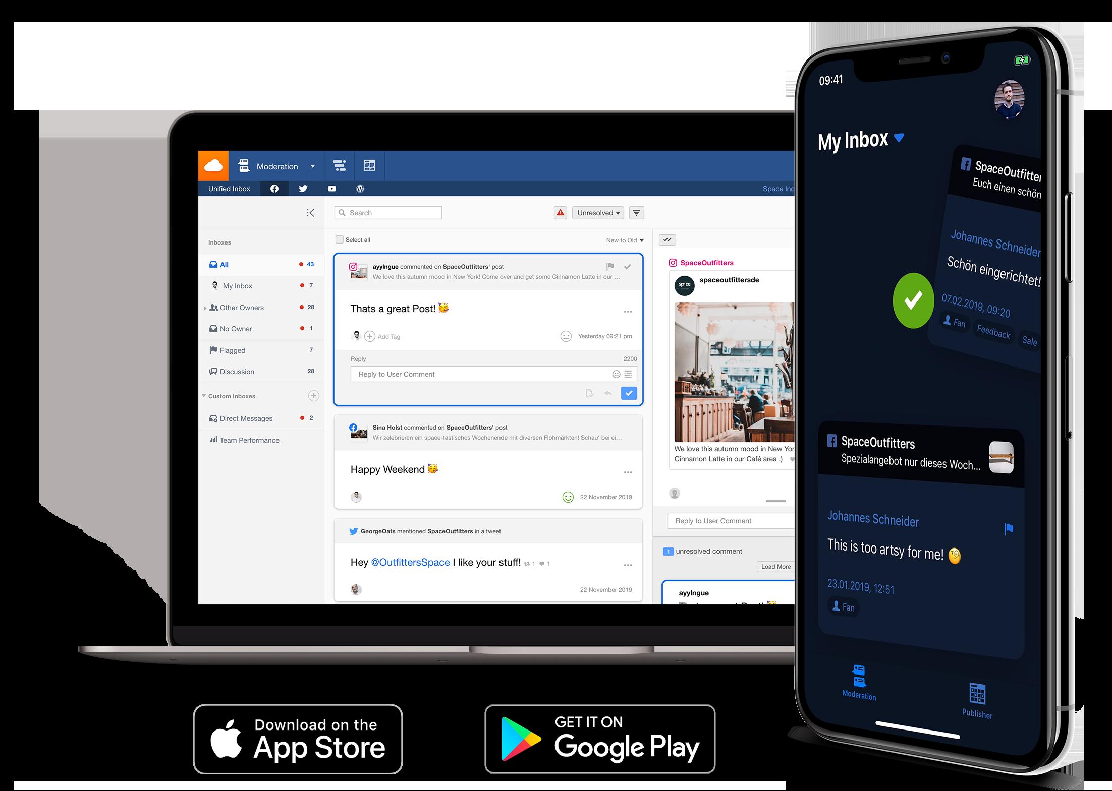 Community Management sur mobile avec Facelift Cloud