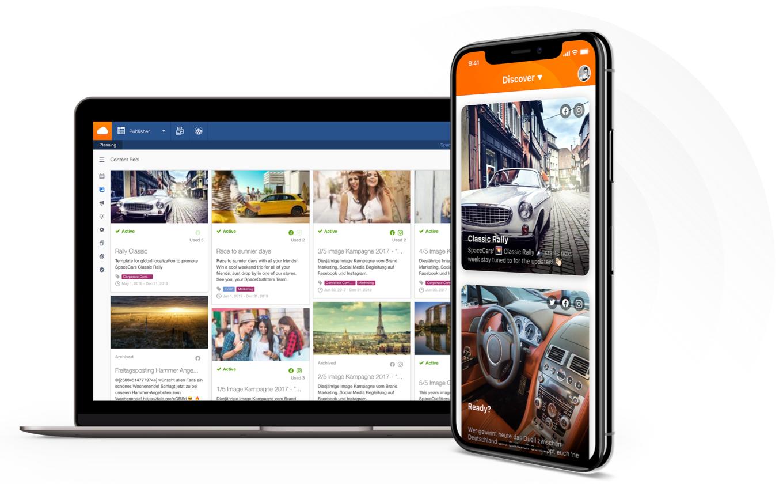Application Social Share - Vos employés en ambassadeurs de marque sur les réseaux sociaux