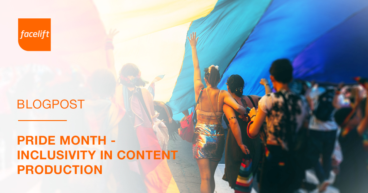 Pride Month - Inclusivity in Content Production